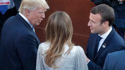 Macron convie Trump à assister au défilé du 14