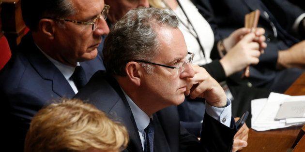 Richard Ferrand lors de la première séance de la nouvelle législature à l'Assemblée