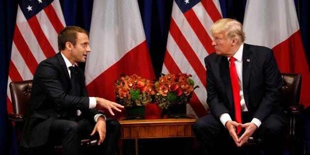 Macron dit qu'il a convaincu Trump sur la Syrie, la Maison Blanche lui répond (sans le