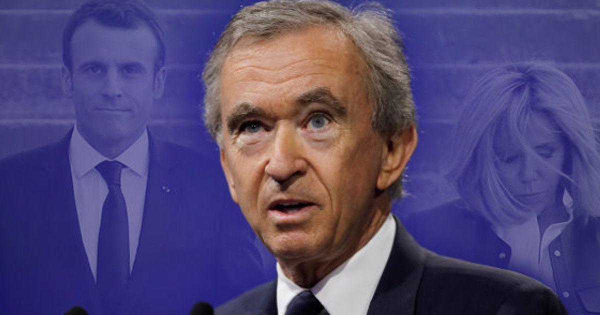 Bernard Arnault Est Il Vraiment L Ami D Emmanuel Macron Comme L A Dit Jean Jacques Bourdin Le Huffpost