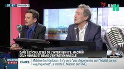 Jean-Jacques Bourdin et Edwy Plenel racontent l'après interview avec Emmanuel