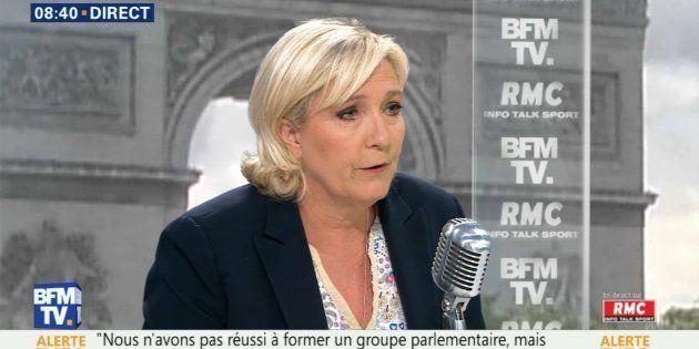 Marine Le Pen veut