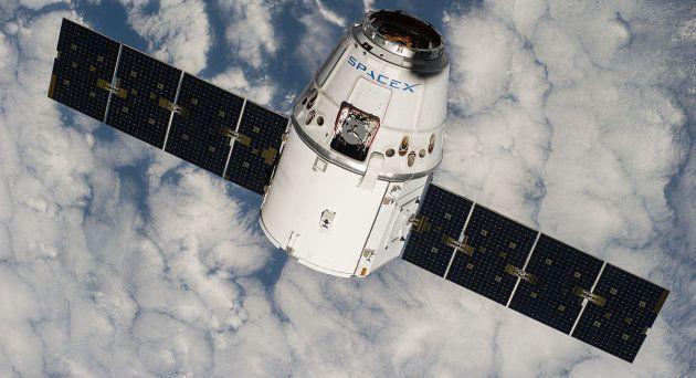 Un morceau de fusée SpaceX s'échoue près d'une ferme