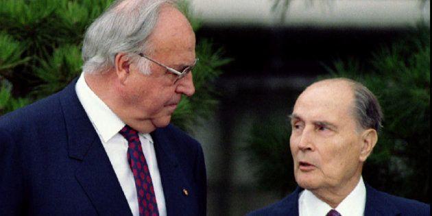 Pourquoi la relation Kohl-Mitterrand symbolise parfaitement l'amitié