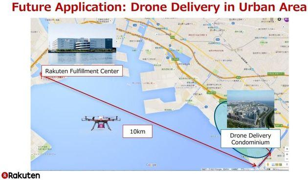 On a suivi un test de livraison par drone, il n'est pas tout à fait prêt pour vos courses