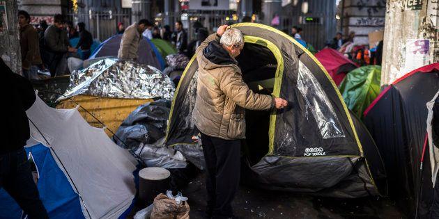 Migrants: le Défenseur des droits Jacques Toubon s'alarme des conditions de