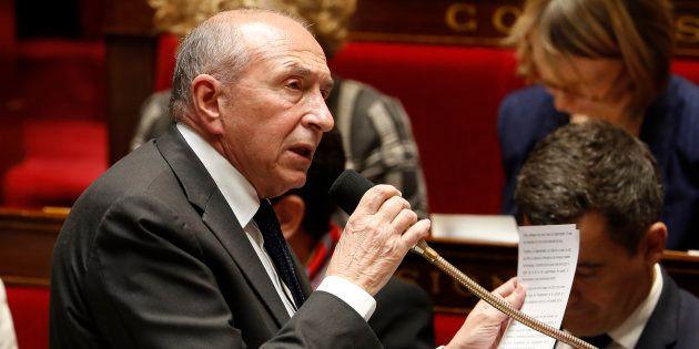 Gérard Collomb à l'Assemblée