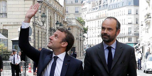 Avec le président Macron, le décès du 1er Ministre est