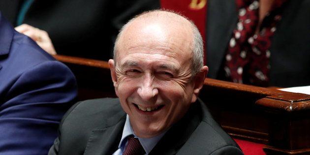Gérard Collomb à l'Assemblée nationale au mois de