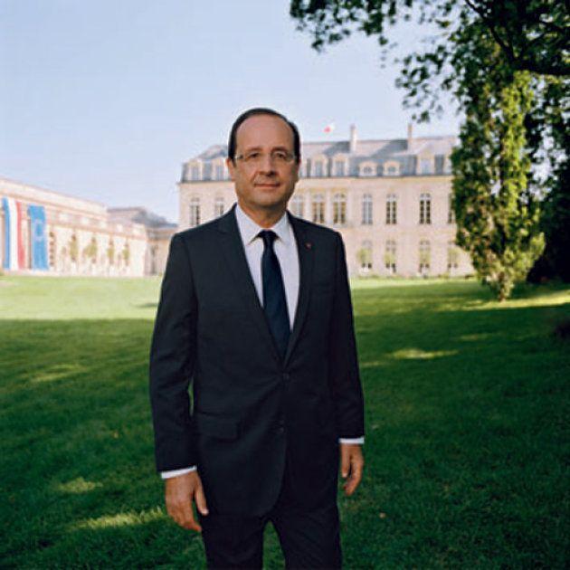 La photo officielle d'Emmanuel Macron a été