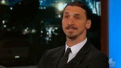 Zlatan, pour son premier talk-show, n'a pas fait dans la modestie,