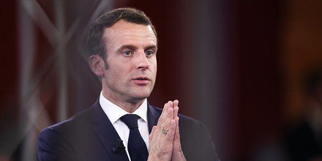 Emmanuel Macron à Epinal mardi 17