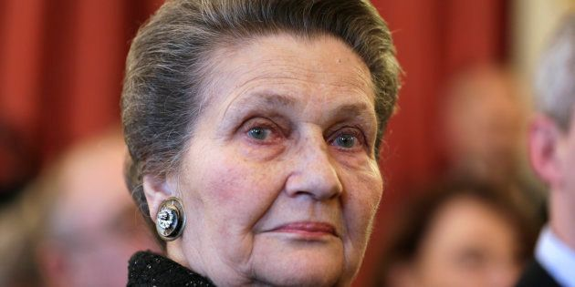 L'ancienne ministre de la Santé, Simone Veil, en