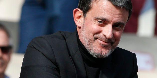 Manuel Valls et Olivia Grégoire, député LREM, sont en
