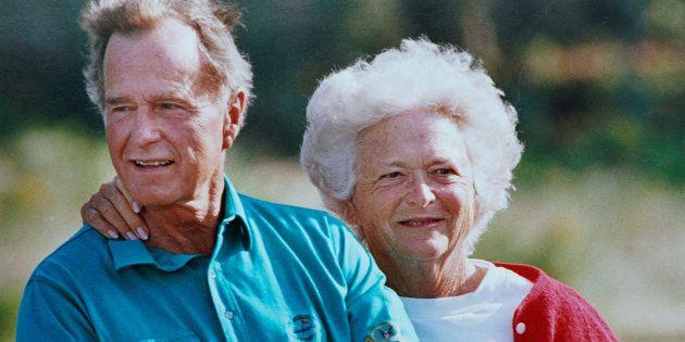 La sublime déclaration d'amour de George Bush Senior à Barbara, sa femme
