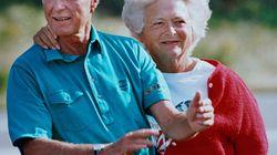 La sublime déclaration d'amour de George Bush Sr. à sa femme