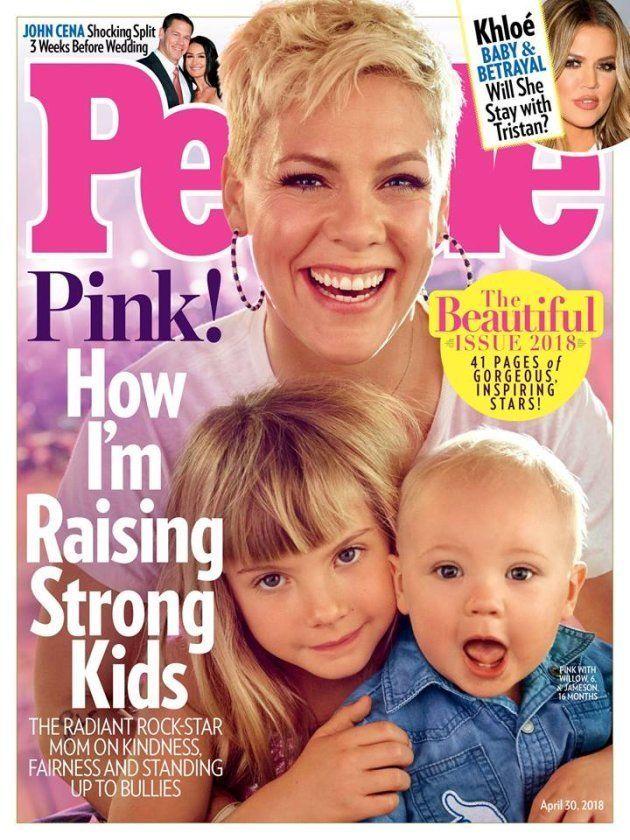 Pink choisie par le magazine