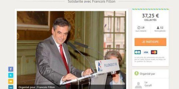 Le Gorafi lègue sa cagnotte d'aide à Fillon de 3700 euros à des