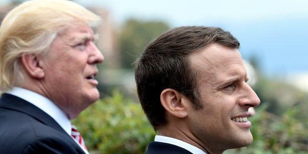 Macron l'Américain à Versailles, entre discours sur l'Etat de l'Union et présidence