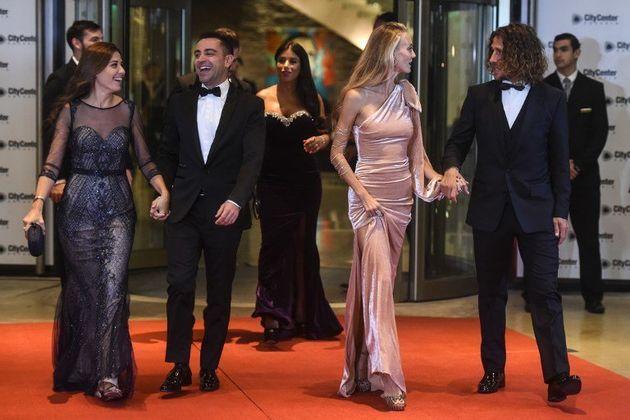 Xavi Alonso, Carles Puyol et leurs