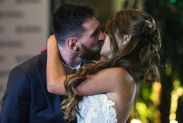 Les images du mariage de Lionel Messi et Antonella