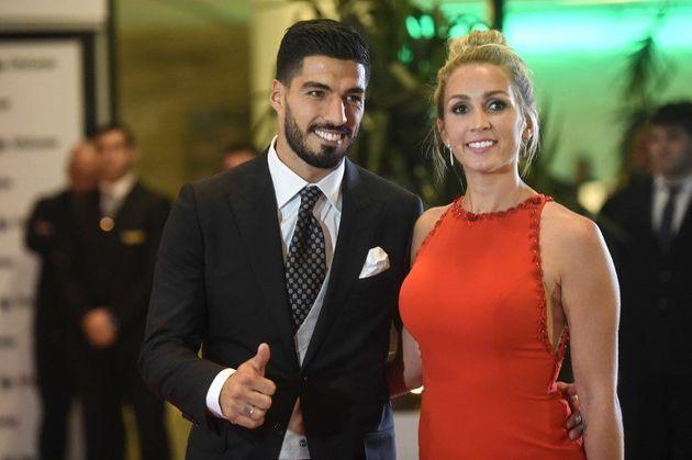 Luis Suarez et sa femme Sofia