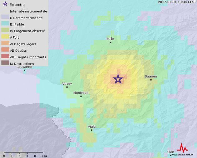 Séisme en Suisse: le tremblement de terre a été ressenti jusqu'à