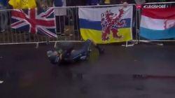 Valverde abandonne après une chute dès la première étape du