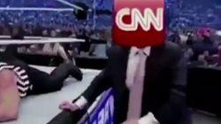 Trump partage une vidéo de lui qui moleste CNN et provoque l'inquiétude sur sa santé