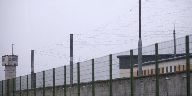 (Photo d'illustration: la prison de Carquefou près de Nantes, le 15 janvier