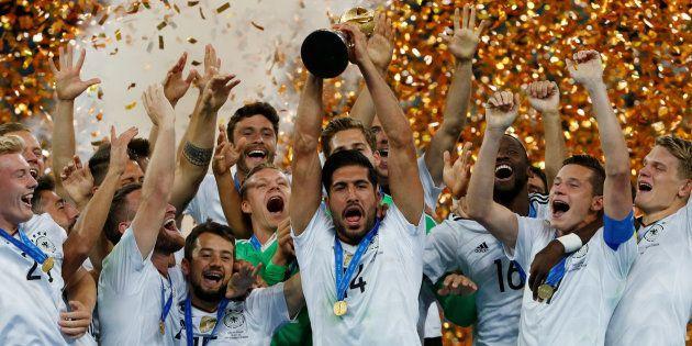 L'Allemagne décroche sa 1ère Coupe des