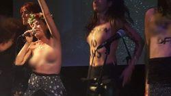 Aux 10 ans des Femen, Lio a chanté seins