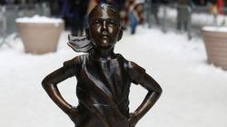 Cette célèbre statue de fillette va finalement quitter Wall