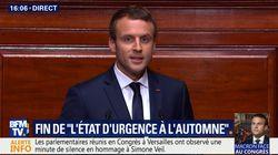 La seule blague de Macron à Versailles a fait un gros