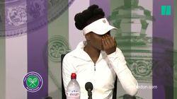 Venus Williams en larmes à