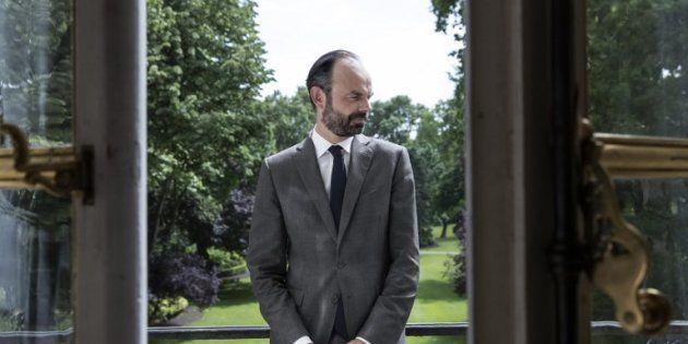 Le premier ministre Edouard Philippe à