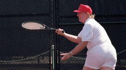 Une photo de Trump en short transparent refait surface, les internautes s'en donnent à cœur