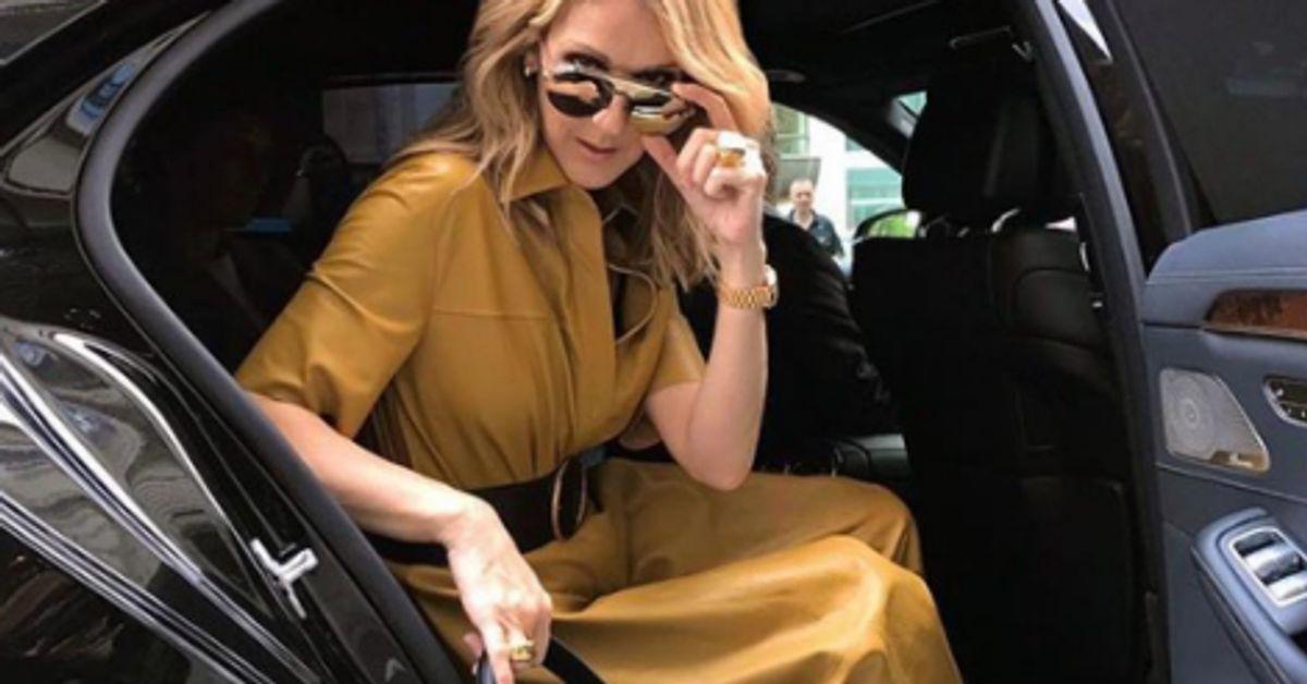 Celine Dion Pose Nue Sur Instagram Pour Vogue Le Huffington Post
