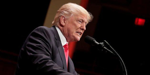 Donald Trump à Washington le 1er juillet
