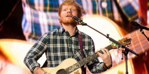 Ed Sheeran quitte twitter à cause de propos