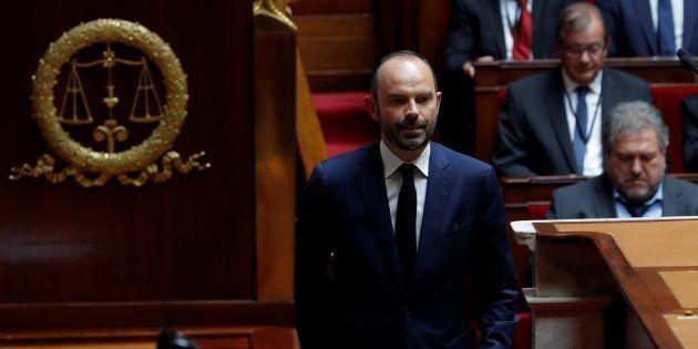 Édouard Philippe avant son discours de politique générale ce mardi 4 juillet à