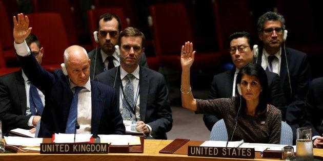 Réunion d'urgence à l'ONU qui condamne