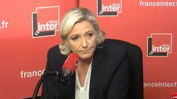 Le Pen évoque des