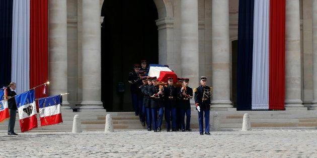 Le Chant des Marais pour accompagner le cercueil de Simone Veil, écrit par des déportés allemands en