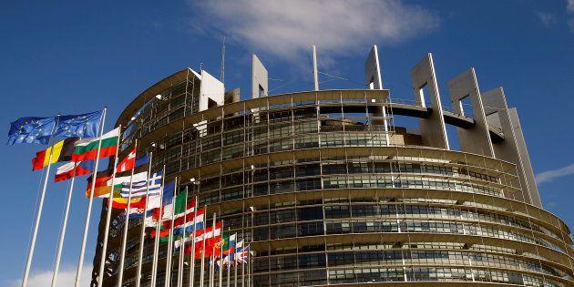 Le Parlement européen de Strasbourg, le 30 juin