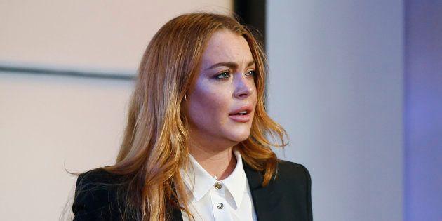 Lindsay Lohan en a