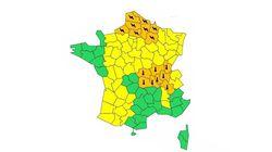 16 départements en vigilance orange à la canicule ou aux