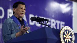 Le président philippin menace ces islamistes de les manger