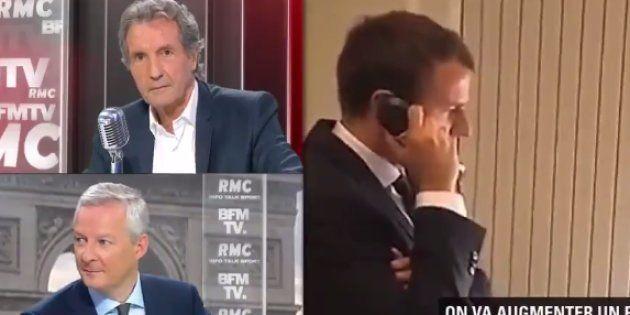 Bruno Le Maire contredit Emmanuel Macron sur les