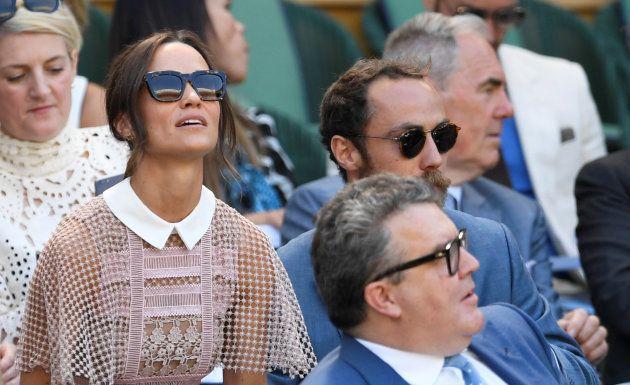 À Wimbledon, Pippa Middleton a arboré une robe tout en